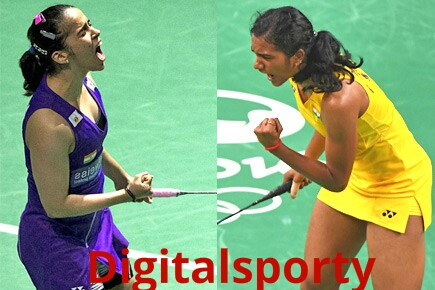 Saina and Sindhu in Indian Open quarter finals. Sindhu edge pasts Saina.