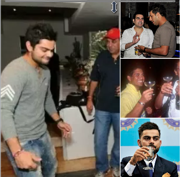 Top 5 Alcoholic cricketers and smokers in Indian cricket team.