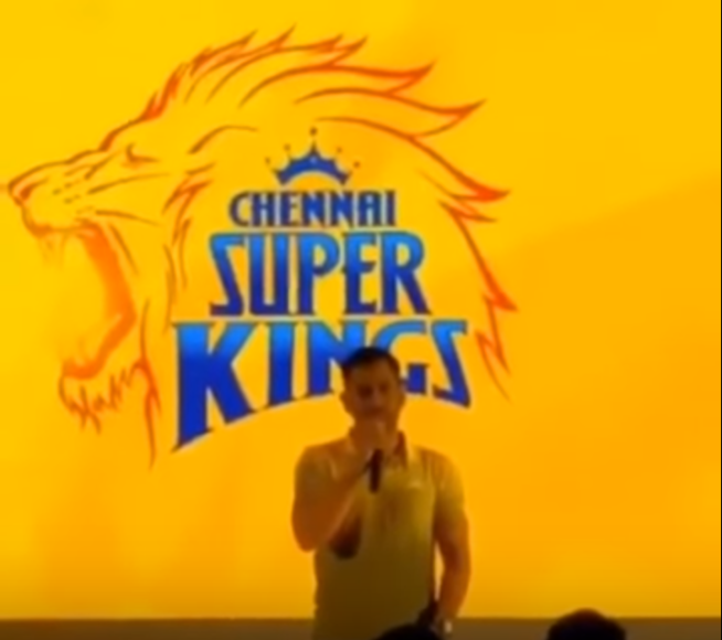 Video: MS Dhoni gets emotional while speaking on return of Chennai Super Kings
