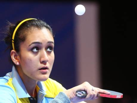 Manika batra wins first ever women's singles table tennis gold for India at the Commonwealth Games