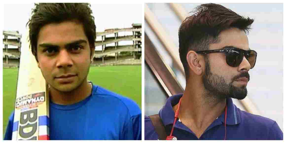 Virat Kohli Hairstyle And Beard Styles That Raised His Style Quotient