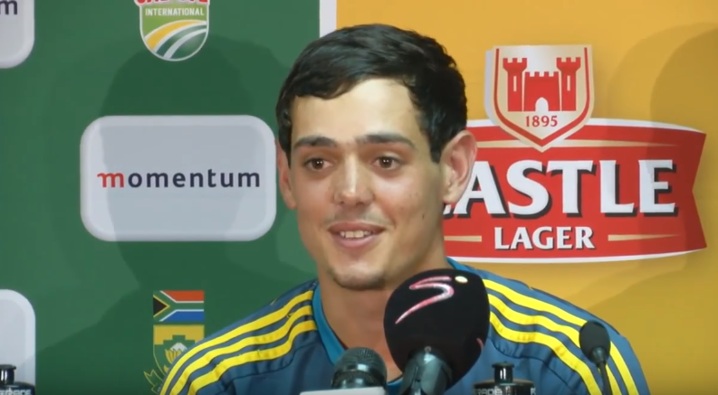 Indian pace attack is one of the best in the world: Quinton De Kock