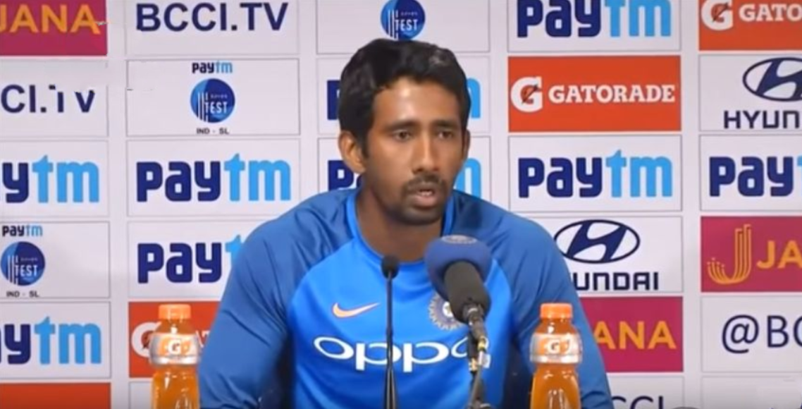 Wriddhiman Saha injured for Afghan test. 3 possible replacements for him