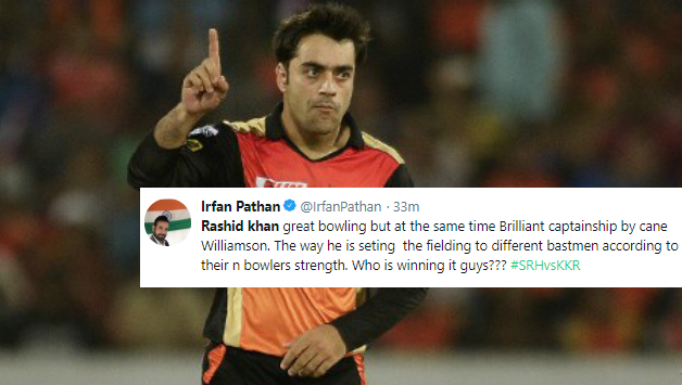 Best tweets on Rashid Khan's magical performance in Qualifier 2.