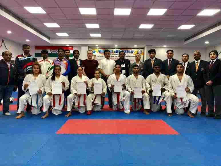 Indian Karate squad for Asian Games 2018 announced