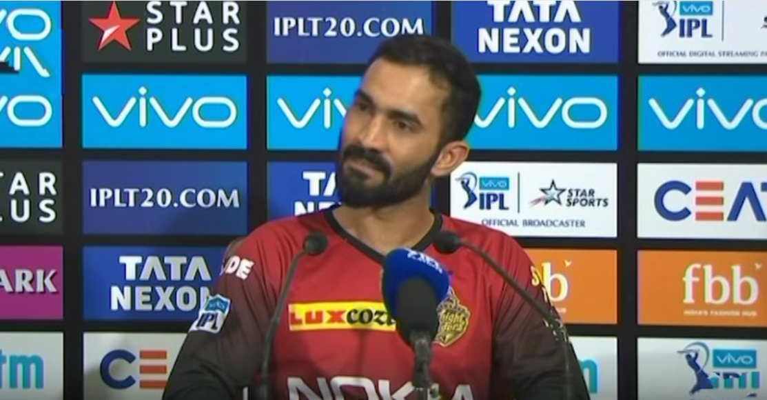 Dhoni is a special player, i didn't loose my place to a normal cricketer: Karthik
