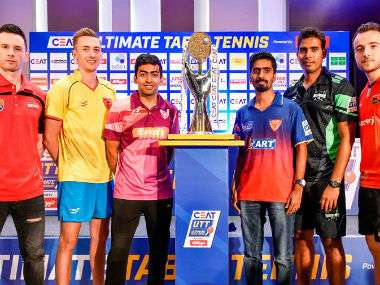 Ultimate Table Tennis 2018 Schedule- Tickets, Live Streaming and Squads