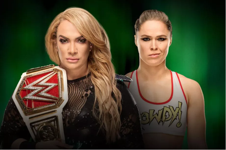 WWE Money in the Bank 2018 Results- Nia Jax vs Ronda Roussey