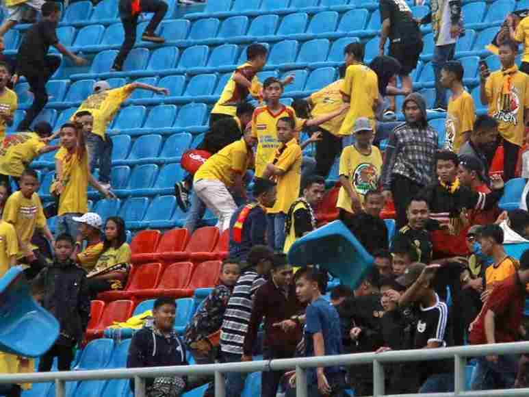 Football fans damage newly renovated Asian Games stadium- Digitalsporty