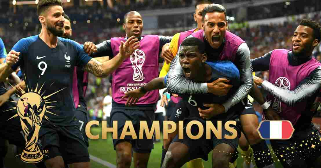2018 World Cup final- A young France thump Croatia in a goal fest