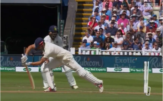 Watch: R Ashwin bowls a beauty to send Alastair cook packing