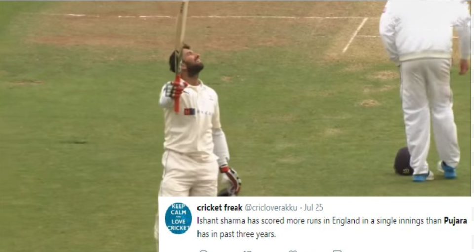 World reacts as Cheteshwar Pujara gets dropped from the Edgbaston test