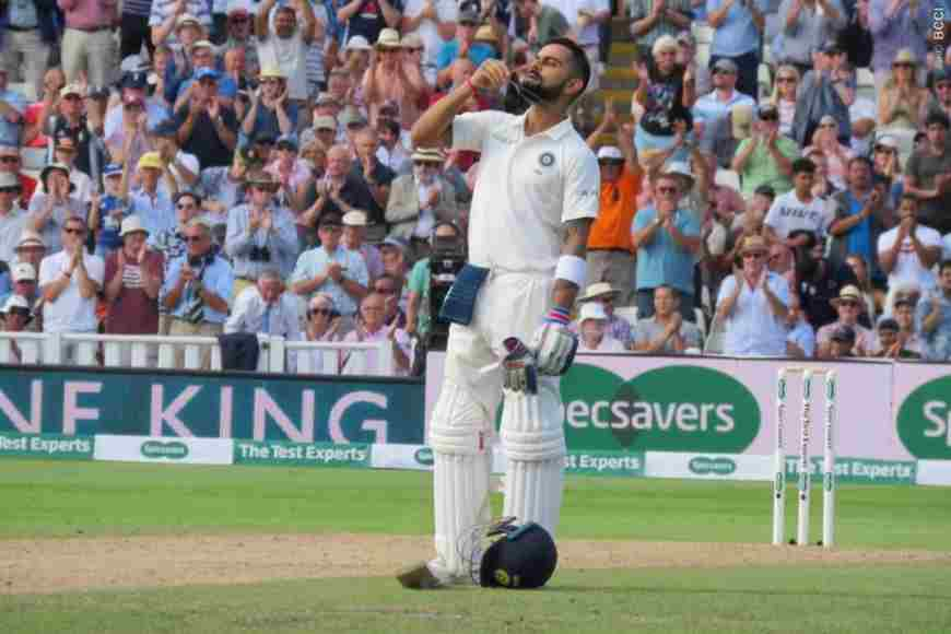 Virat Kohli rates his maiden test hundred in England- Digitalsporty