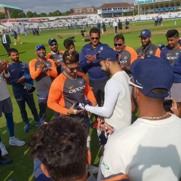 Twitter reacts as Rishabh Pant becomes the 291st test player for India