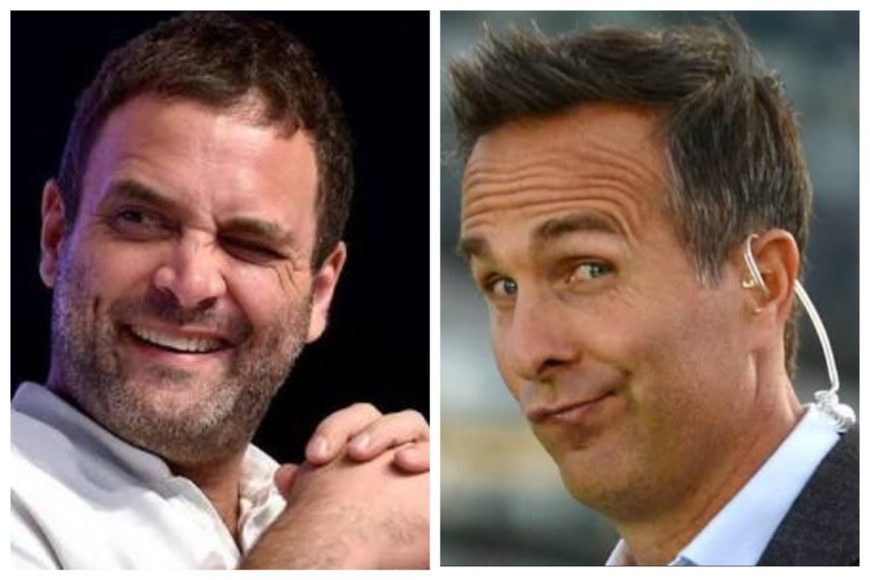 Former England cricketer Michael Vaughan roasted online for his optimistic views