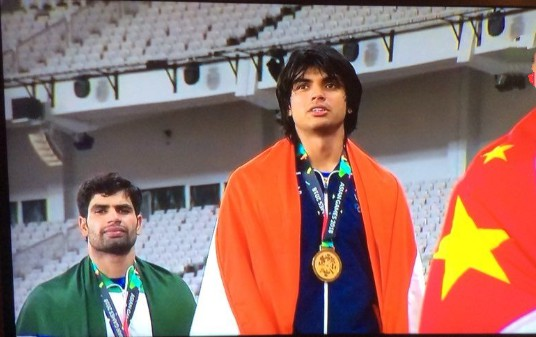 Asian Games 2018: Twitter buzz with congratulatory messages as Neeraj Chopra wins gold in men's javelin throw