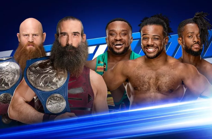 WWE Smackdown Live results 21 August 2018- Bludgeon Brothers vs The New Day