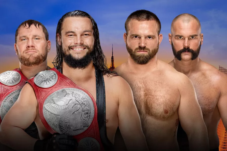 """""""The B Team"""" to defend their tag team title at Summerslam kickoff show"""