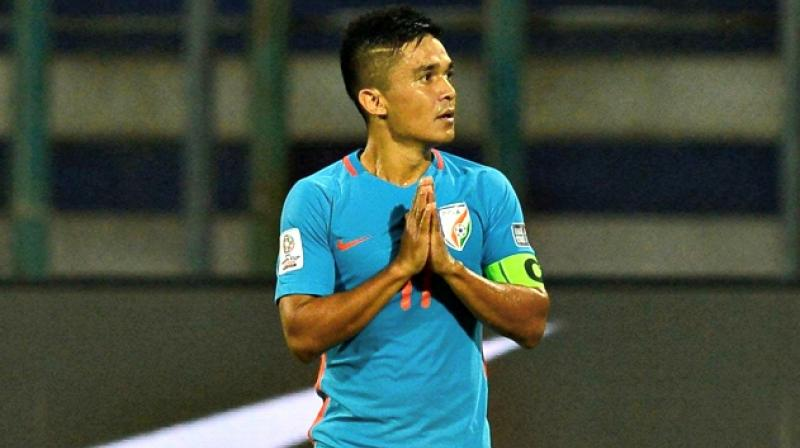 AFC send across a heart warming message to Sunil Chhetri on his 34th birthday