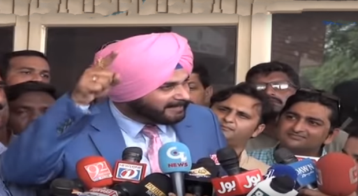 Video: Hindustan jeevay, Pakistan jeevay says Sidhu, arrives in Lahore for Imran Khan's oath ceremony