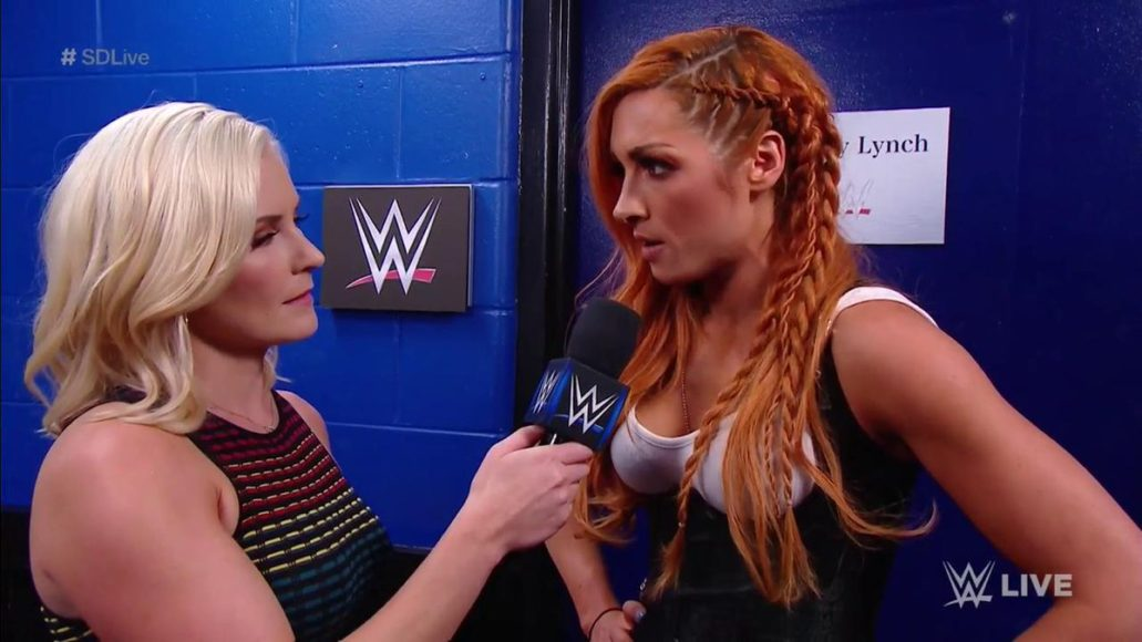 Video: Becky Lynch fools Charlotte Flair with a changed look and attacks her