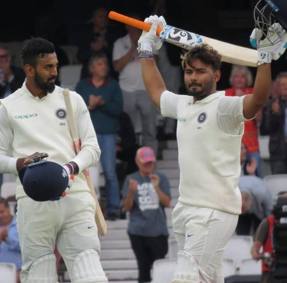 Twitter reacts after Rishabh Pant completes his maiden test century