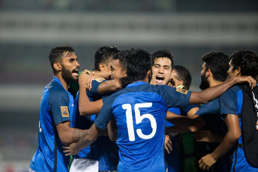 Fans express their happiness after India thump Pakistan in SAFF Championship semi-final 3-1
