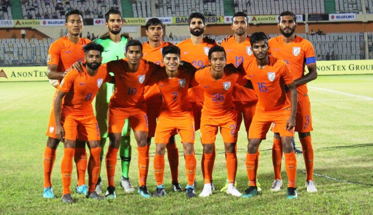 Indian football team pip Sri Lanka 2-0 in SAFF Championships 2018