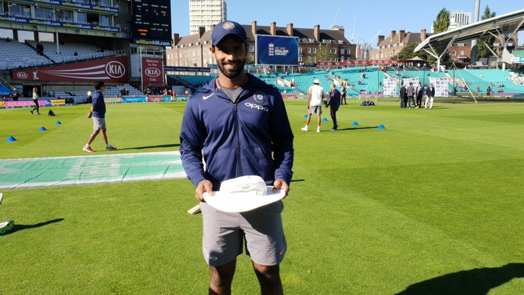 Hanuma Vihari reveals the thing which eased his nerves in his debut test