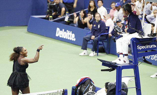 US Open 2018: Serena Williams slammed for stealing the spot light of Naomi Osaka