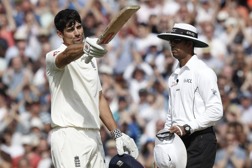 Cricket experts applauds Alastair Cook after he scores his last ton for England