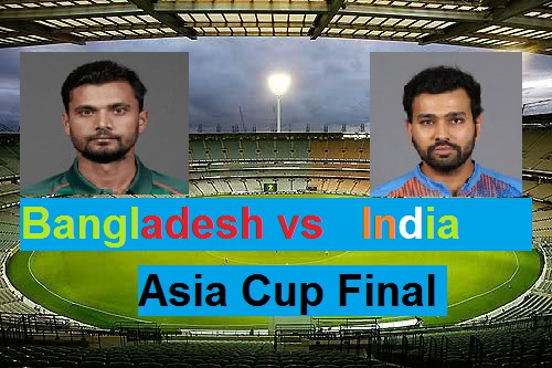 Asia cup 2018 final: India vs Bangladesh- weather report, pitch report, statistics