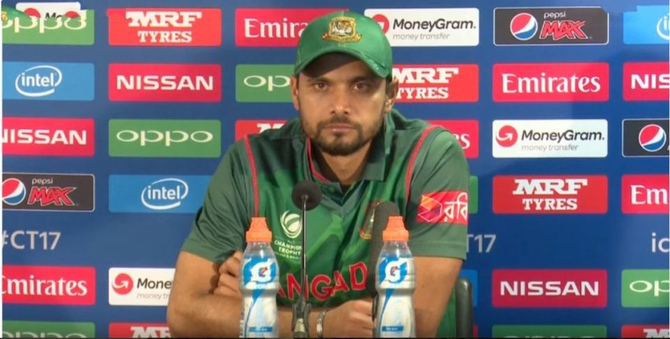 We can defeat India and Pakistan, says Bangladesh captain Mashrafe Mortaza