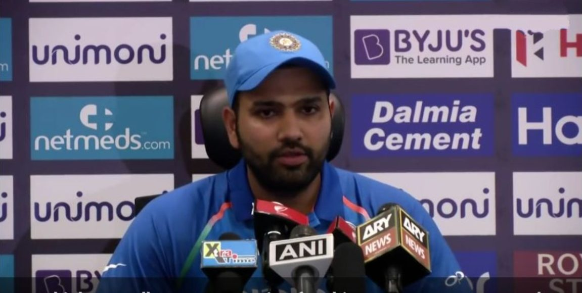 Rohit Sharma feels there is a similarity between him and MS Dhoni