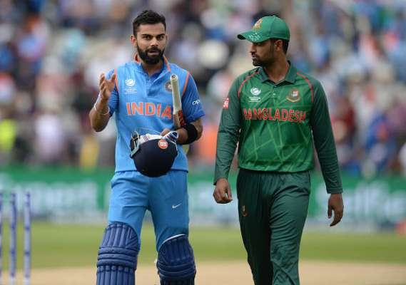 Bangladeshi opener Tamim Iqbal says Virat Kohli is not a human