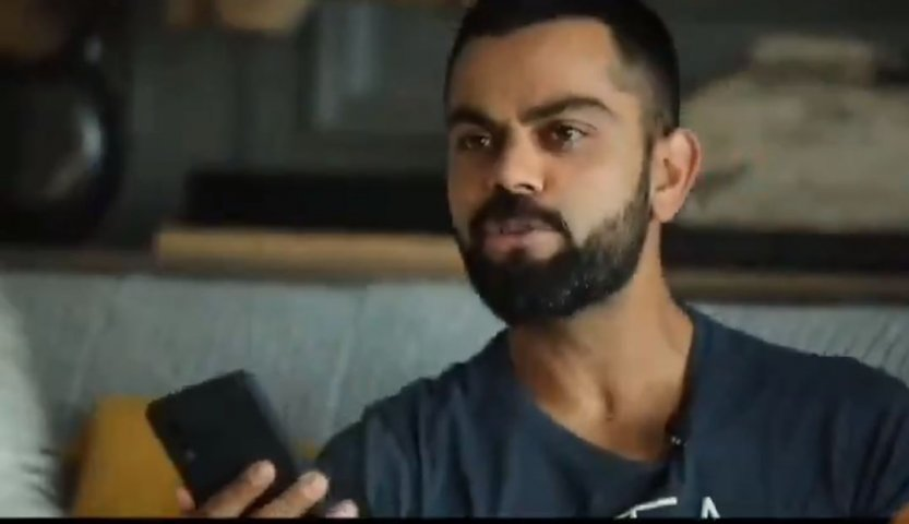India captain Virat Kohli has a piece of advice for the peoples