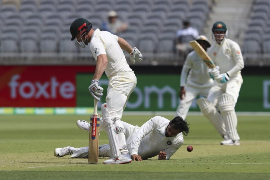 Australia vs India 2nd test: Australia in drivers seat after the end of day's play