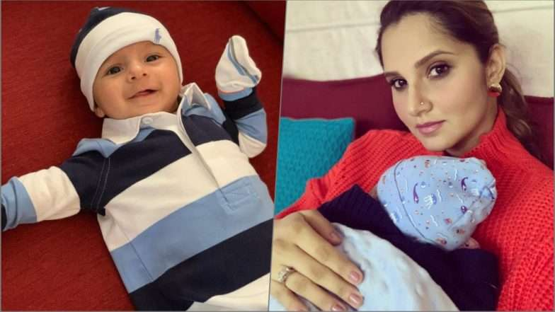 "Sania Mirza shares first photograph of her son ""Izhaan"""