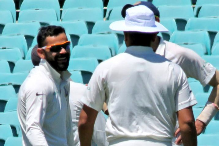 In video: Virat Kohli could not control his laughter after picking a wicket in practise match