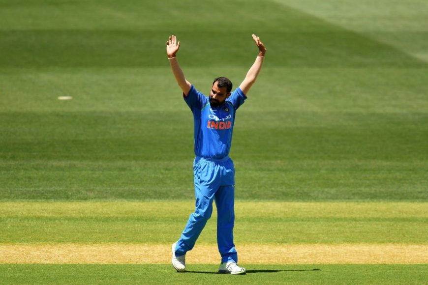 Mohammed Shami says he is topped up with confidence
