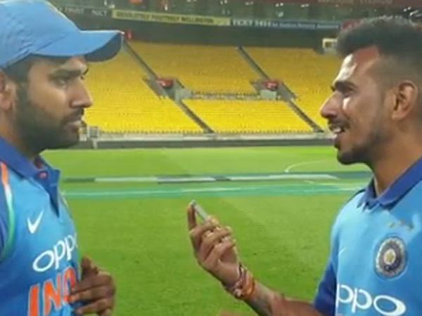 Yuzvendra Chahal to bat at number three, says Rohit Sharma