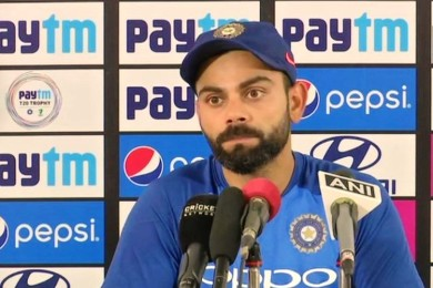 Virat Kohli reacts on boycotting India-Pakistan World cup game
