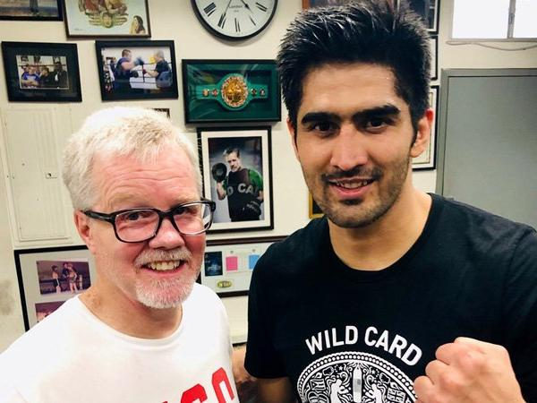 Vijender Singh's next professional bout date announced