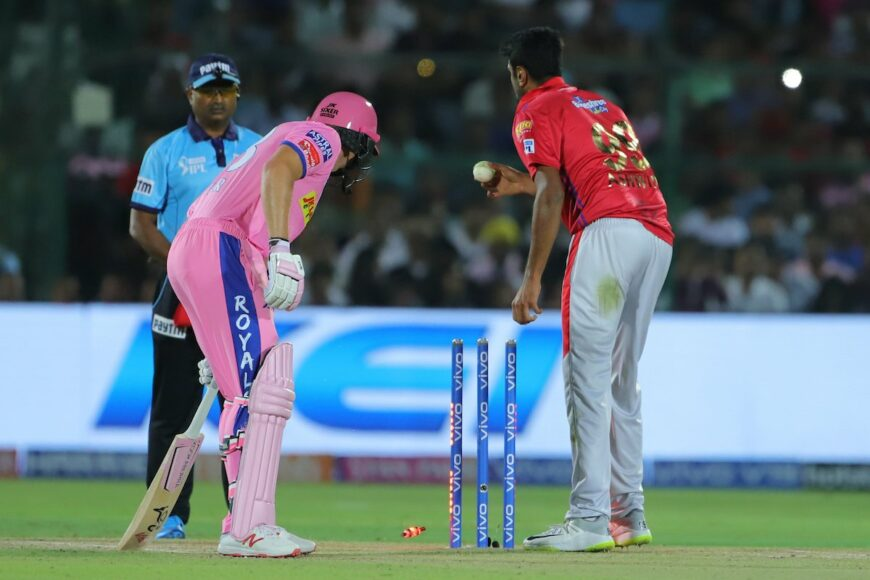 RR vs KXIP: Jos Buttler dismissed in a controversial run out from R Ashwin, watch video