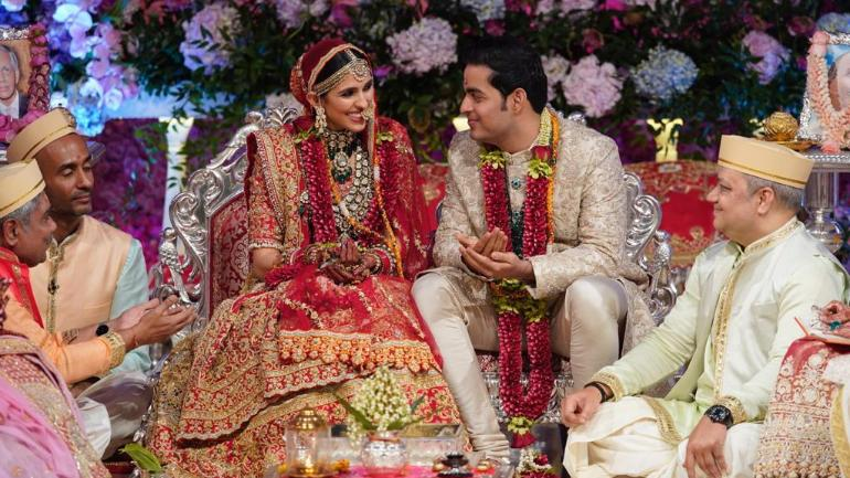 In pictures: Cricketers grace Akash Ambani-Shloka Mehta wedding ceremony