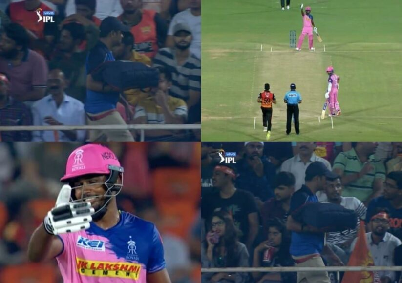 IPL 2019: When a pizza delivery boy stopped play between SRH and RR