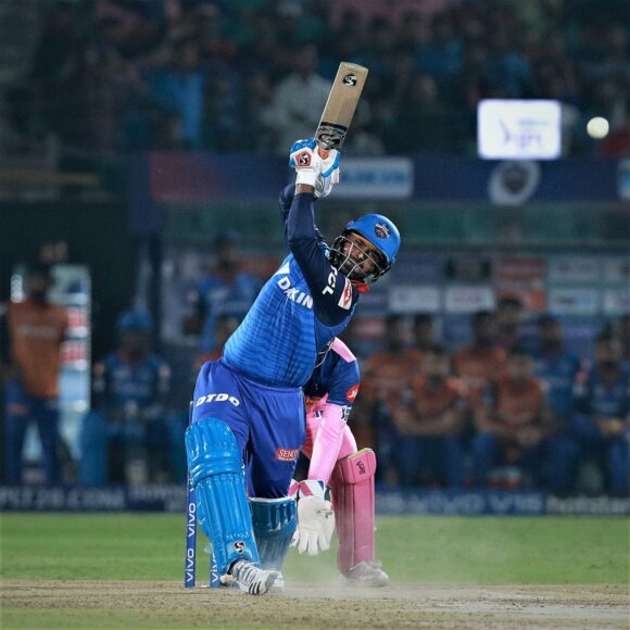 Rishabh Pant reacts after missing out from India's world cup squad