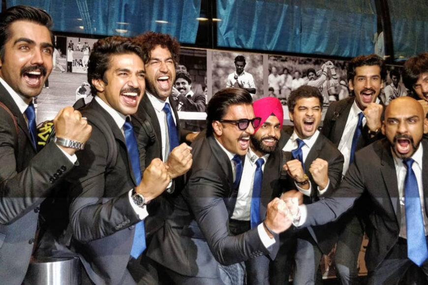 "Ranveer Singh reveals the entire cast of Kapil Dev's biopic named ""83"""