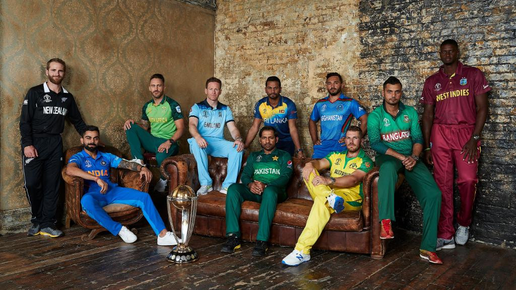 In pictures: Captains attend ICC World Cup 2019 media day