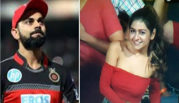 This RCB fan girl is stealing million hearts ! Check her viral Instagram pics